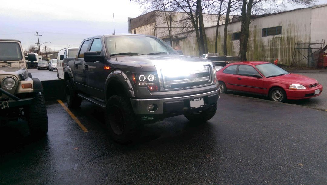 Ford F-150 Light bar