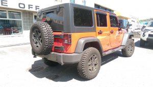 2013 Jeep Lift